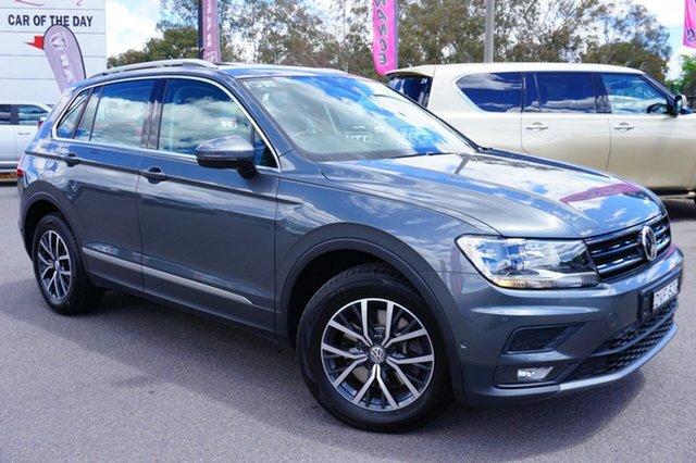 Used Volkswagen Tiguan 5N MY18 132TSI DSG 4MOTION Comfortline, 2018 Volkswagen Tiguan 5N MY18 132TSI DSG 4MOTION Comfortline Grey 7 Speed