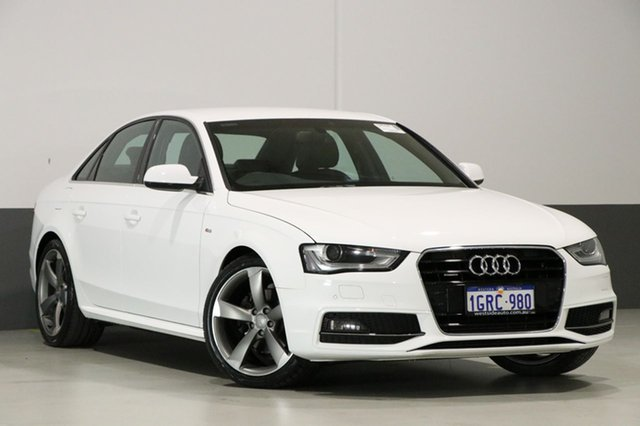 Used Audi A4 B8 (8K) MY14 2.0 TDI Quattro, 2014 Audi A4 B8 (8K) MY14 2.0 TDI Quattro White 7 Speed Auto Direct Shift Sedan