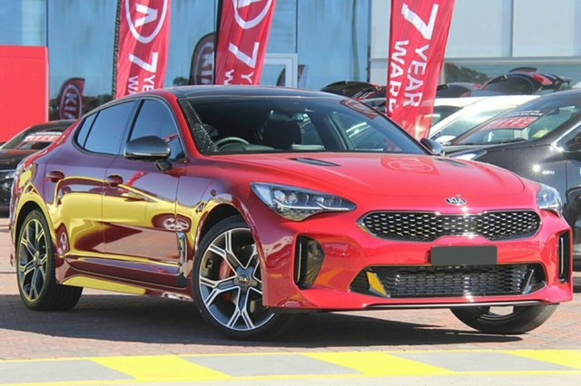 New Kia Stinger CK MY19 GT Fastback, 2019 Kia Stinger CK MY19 GT Fastback Hichroma Red 8 Speed Sports Automatic Sedan