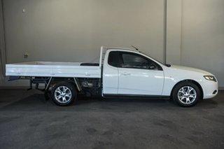 2010 Ford Falcon FG Ute Super Cab White 4 Speed Automatic Utility