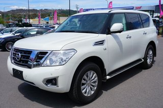 2018 Nissan Patrol Y62 Series 4 TI-L White 7 Speed Sports Automatic Wagon.