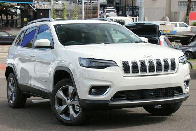 New Jeep Cherokee KL MY19 Limited, 2018 Jeep Cherokee KL MY19 Limited Bright White 9 Speed Sports Automatic Wagon
