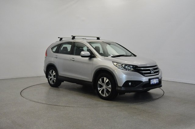 Used Honda CR-V RM VTi-L 4WD, 2012 Honda CR-V RM VTi-L 4WD Silver 5 Speed Automatic Wagon