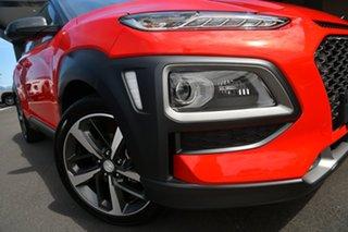 2020 Hyundai Kona OS.3 MY20 Highlander D-CT AWD Pulse Red 7 Speed Sports Automatic Dual Clutch Wagon.