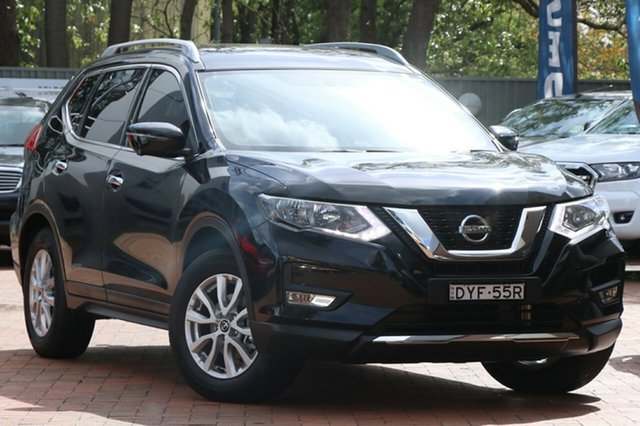 Used Nissan X-Trail T32 Series II ST-L X-tronic 4WD, 2018 Nissan X-Trail T32 Series II ST-L X-tronic 4WD Diamond Black 7 Speed Constant Variable Wagon