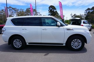 2018 Nissan Patrol Y62 Series 4 TI-L White 7 Speed Sports Automatic Wagon
