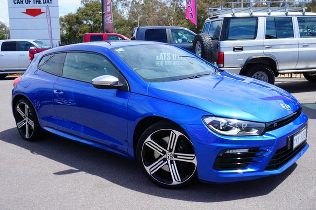 Used Volkswagen Scirocco 1S MY16 R Coupe, 2015 Volkswagen Scirocco 1S MY16 R Coupe Rising Blue 6 Speed Manual Hatchback