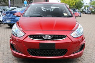 2019 Hyundai Accent RB6 MY18 Sport Pulse Red 6 Speed Automatic Sedan