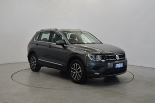 2018 Volkswagen Tiguan 5N MY18 110TDI DSG 4MOTION Comfortline Indium Grey 7 Speed.