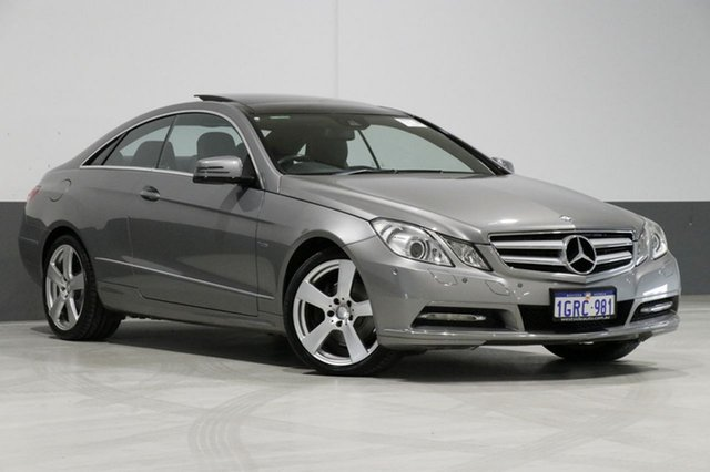 Used Mercedes-Benz E250 207 MY12 CDI Elegance BE, 2012 Mercedes-Benz E250 207 MY12 CDI Elegance BE Silver 5 Speed Automatic Coupe