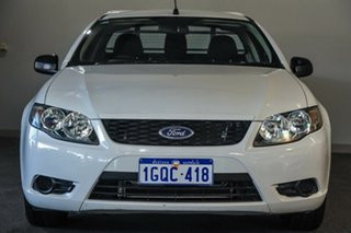 2010 Ford Falcon FG Ute Super Cab White 4 Speed Automatic Utility.