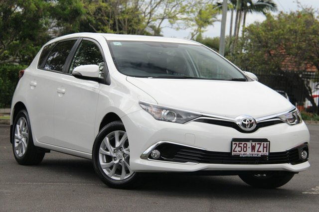 Used Toyota Corolla ZRE182R Ascent Sport, 2016 Toyota Corolla ZRE182R Ascent Sport White 6 Speed Manual Hatchback