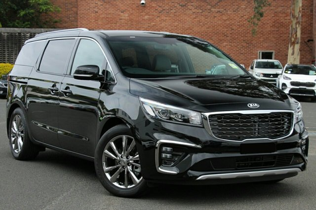 New Kia Carnival YP MY20 Platinum, 2020 Kia Carnival YP MY20 Platinum Aurora Black 8 Speed Sports Automatic Wagon
