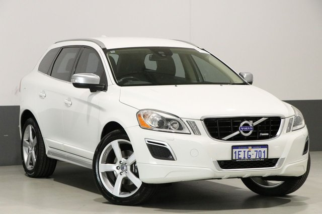 Used Volvo XC60 DZ MY12 T6 R-Design, 2013 Volvo XC60 DZ MY12 T6 R-Design White 6 Speed Automatic Geartronic Wagon