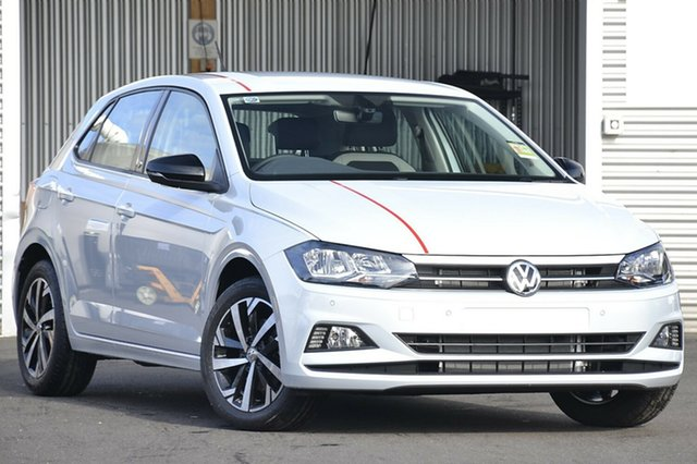 New Volkswagen Polo AW MY18 Beats, 2018 Volkswagen Polo AW MY18 Beats White Silver 6 Speed Manual Hatchback