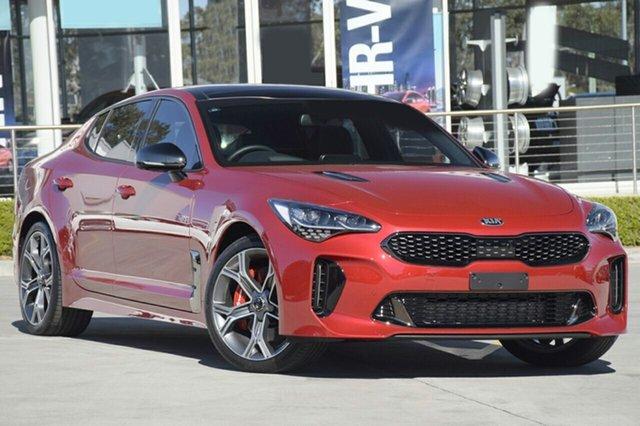 New Kia Stinger CK MY20 GT Fastback, 2019 Kia Stinger CK MY20 GT Fastback Hichroma Red 8 Speed Sports Automatic Sedan