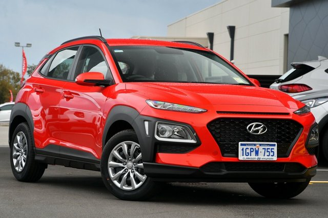 New Hyundai Kona OS.2 MY19 Go 2WD, 2019 Hyundai Kona OS.2 MY19 Go 2WD Tangerine Comet 6 Speed Sports Automatic Wagon