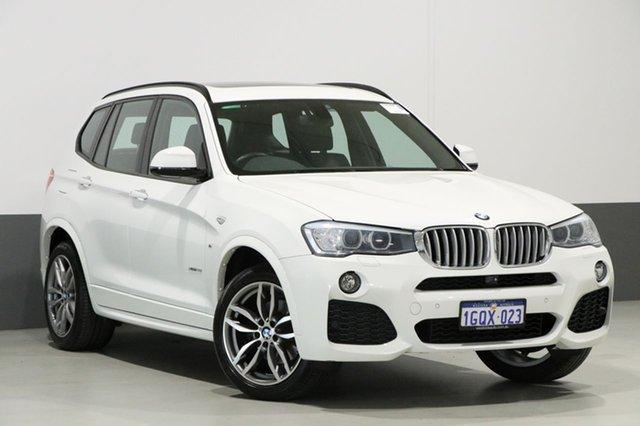 Used BMW X3 F25 MY15 xDrive 28I, 2015 BMW X3 F25 MY15 xDrive 28I White 8 Speed Automatic Wagon
