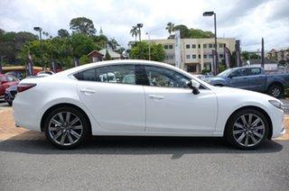 2021 Mazda 6 GL1033 Atenza SKYACTIV-Drive Snowflake White Pearl 6 Speed Sports Automatic Sedan.