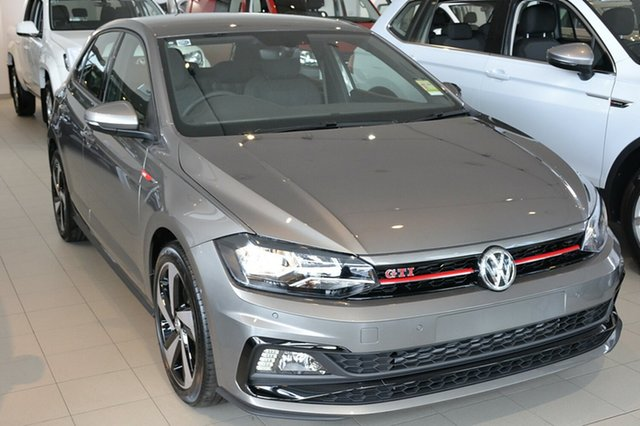 New Volkswagen Polo AW MY19 GTI DSG, 2018 Volkswagen Polo AW MY19 GTI DSG Limestone Grey 6 Speed Sports Automatic Dual Clutch Hatchback