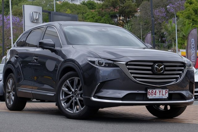 Demo Mazda CX-9 TC Azami SKYACTIV-Drive i-ACTIV AWD, 2018 Mazda CX-9 TC Azami SKYACTIV-Drive i-ACTIV AWD Machine Grey 6 Speed Sports Automatic Wagon