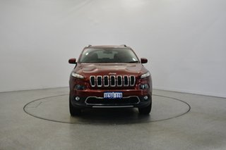 2015 Jeep Cherokee KL MY15 Limited Deep Cherry Red 9 Speed Sports Automatic Wagon