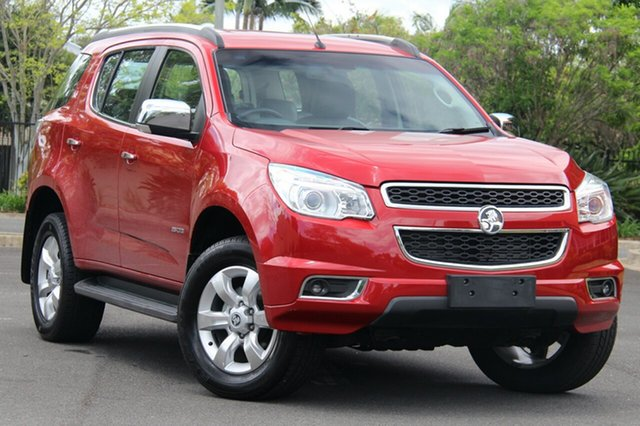 Used Holden Colorado 7 RG MY13 LTZ, 2012 Holden Colorado 7 RG MY13 LTZ Red 6 Speed Sports Automatic Wagon