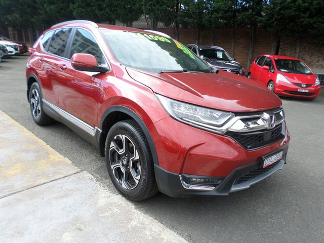 Used Honda CR-V RW MY18 VTi-LX 4WD, 2018 Honda CR-V RW MY18 VTi-LX 4WD Passion Red 1 Speed Constant Variable Wagon