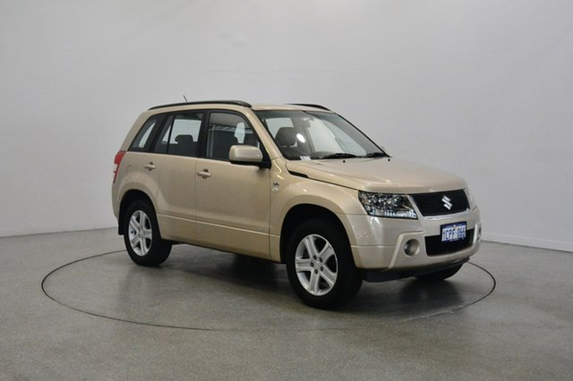 Used Suzuki Grand Vitara JB Type 2 Prestige, 2007 Suzuki Grand Vitara JB Type 2 Prestige Beige 5 Speed Automatic Wagon