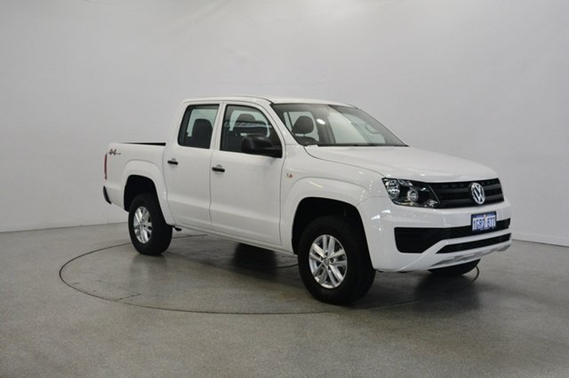 Used Volkswagen Amarok 2H MY18 TDI400 4MOT Core, 2018 Volkswagen Amarok 2H MY18 TDI400 4MOT Core Pure White 6 Speed Manual Utility