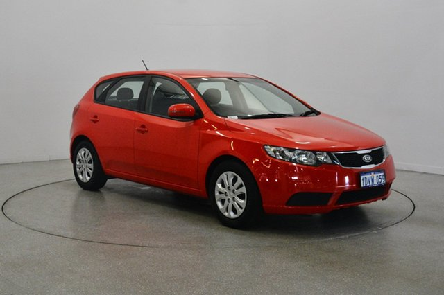 Used Kia Cerato TD MY12 S, 2012 Kia Cerato TD MY12 S Racing Red 6 Speed Sports Automatic Hatchback