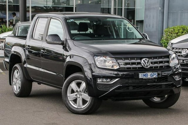 Demo Volkswagen Amarok 2H MY18 TDI550 4MOTION Perm Sportline, 2018 Volkswagen Amarok 2H MY18 TDI550 4MOTION Perm Sportline Black 8 Speed Automatic Utility