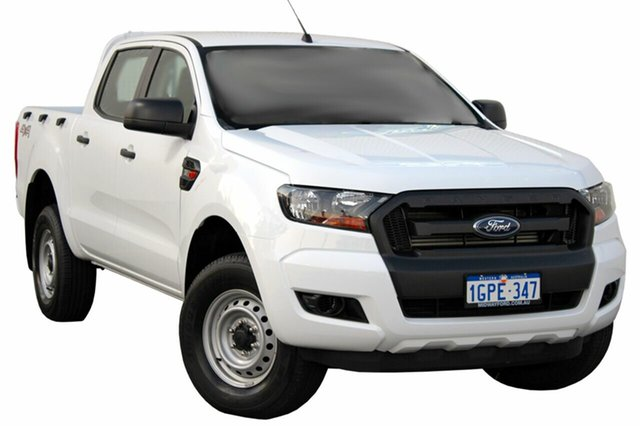 Demo Ford Ranger PX MkII MY18 XL Double Cab, 2017 Ford Ranger PX MkII MY18 XL Double Cab Frozen White 6 Speed Sports Automatic Utility