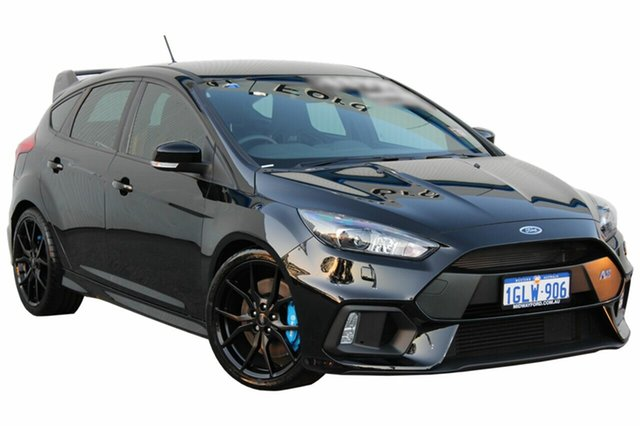 Demo Ford Focus LZ RS AWD, 2017 Ford Focus LZ RS AWD Shadow Black 6 Speed Manual Hatchback