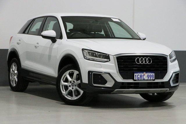 Used Audi Q2 GA MY18 1.4 Tfsi Design, 2017 Audi Q2 GA MY18 1.4 Tfsi Design White 7 Speed Auto S-Tronic Wagon