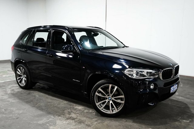 Used BMW X5 F15 xDrive25d, 2014 BMW X5 F15 xDrive25d Carbon Black 8 Speed Automatic Wagon