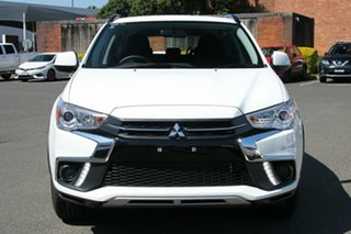 2018 Mitsubishi ASX XC MY19 ES (2WD) Silver Continuous Variable Wagon