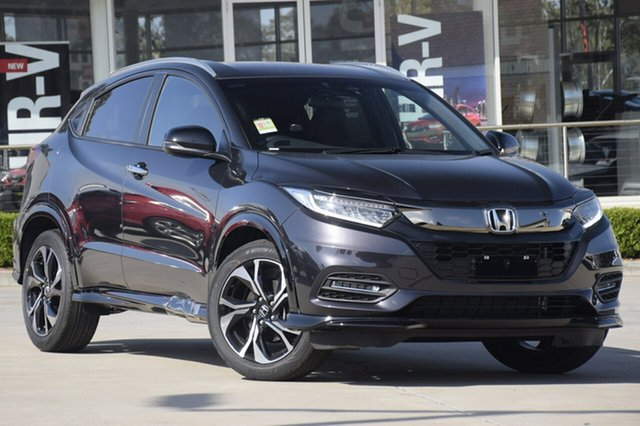 New Honda HR-V MY21 RS Hornsby, 2020 Honda HR-V MY21 RS Crystal Black 1 Speed Constant Variable Hatchback