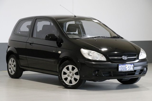 Used Hyundai Getz TB MY09 SX, 2011 Hyundai Getz TB MY09 SX Black 4 Speed Automatic Hatchback