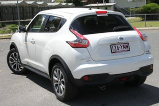 2018 Nissan Juke F15 Series 2 Ti-S X-tronic AWD Ivory Pearl 1 Speed Constant Variable Hatchback.