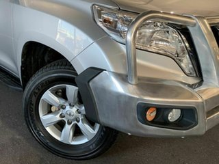 2015 Toyota Landcruiser Prado GRJ150R MY14 GXL Silver 5 Speed Sports Automatic Wagon.