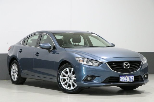 Used Mazda 6 6C Sport, 2014 Mazda 6 6C Sport Blue 6 Speed Automatic Sedan