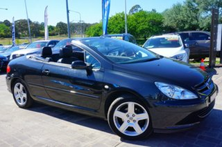 2005 Peugeot 307 T6 CC Dynamic Black 4 Speed Sports Automatic Cabriolet.