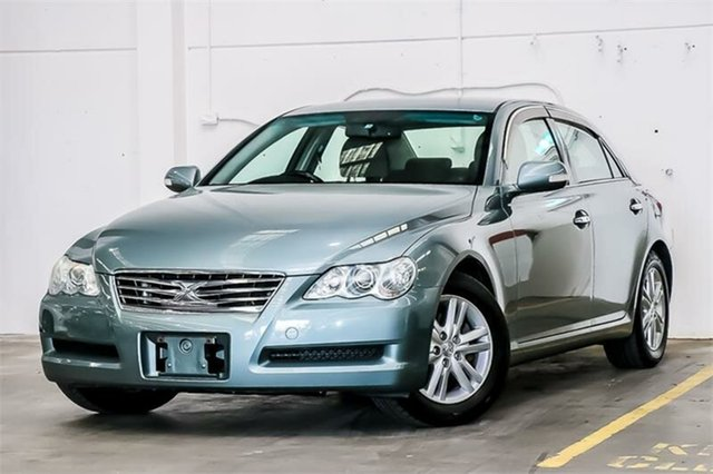 Used Toyota Mark X  , 2007 Toyota Mark X GRX121 300G Green