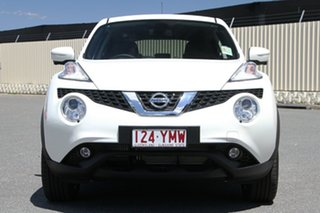 2018 Nissan Juke F15 Series 2 Ti-S X-tronic AWD Ivory Pearl 1 Speed Constant Variable Hatchback
