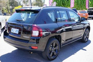 2014 Jeep Compass MK MY14 Blackhawk CVT Auto Stick Black 6 Speed Constant Variable Wagon