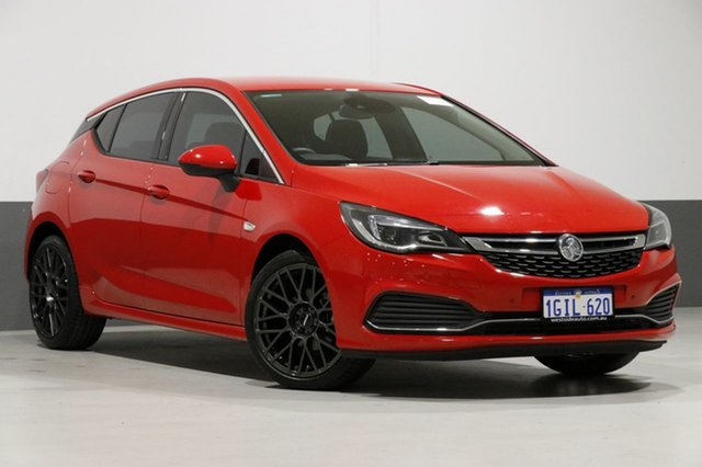 Used Holden Astra BK MY17 RS-V, 2017 Holden Astra BK MY17 RS-V Red 6 Speed Manual Hatchback
