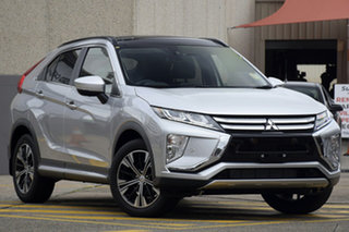 2018 Mitsubishi Eclipse Cross YA MY18 Exceed AWD Sterling Silver 8 Speed Constant Variable Wagon.