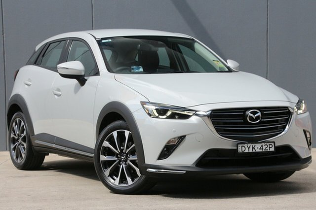 Demo Mazda CX-3 DK2W7A sTouring SKYACTIV-Drive, 2018 Mazda CX-3 DK2W7A sTouring SKYACTIV-Drive Ceramic 6 Speed Sports Automatic Wagon