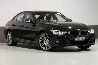 2017 BMW 330i F30 LCI M Sport Black 8 Speed Automatic Sedan.